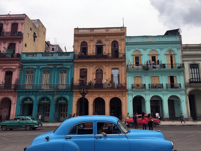 The classic cars and architecture of Cuba make you feel like to stepped back in time.